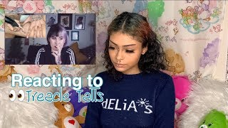 Reacting to Treacle Tatts vid About me