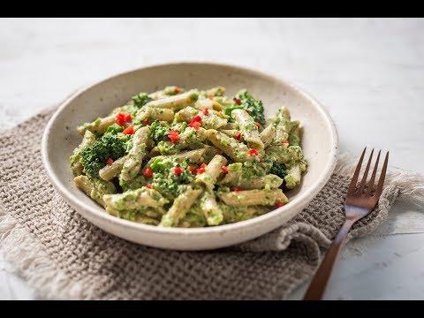 Pulse Pasta with Vegan Pesto and Broccolini
