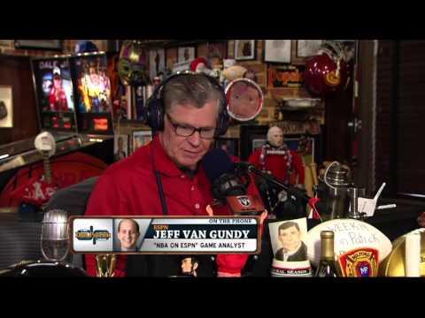 Jeff Van Gundy on The Dan Patrick Show (Full Interview) 02/29/2016