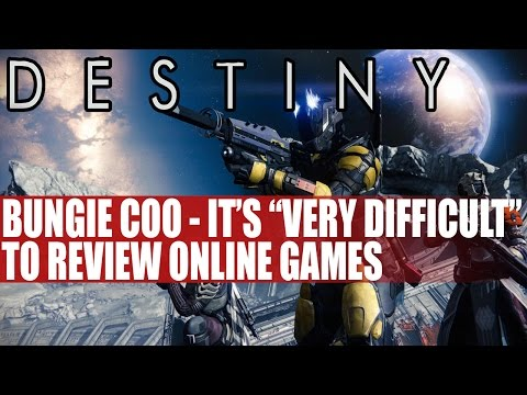 """Bungie COO - """"Its Very Difficult"""" To Review Destiny & Online Games"""