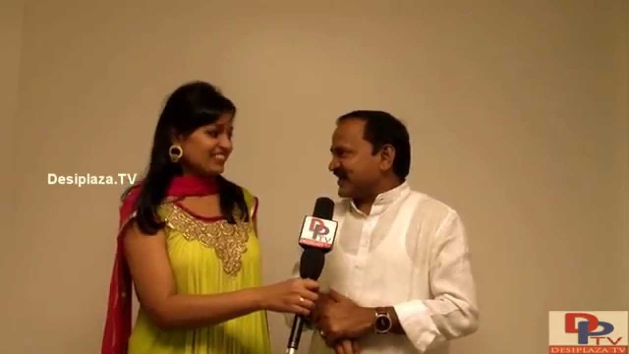 Mimicry Artist and Comedian Ravi garu speaking to Desiplaza TV