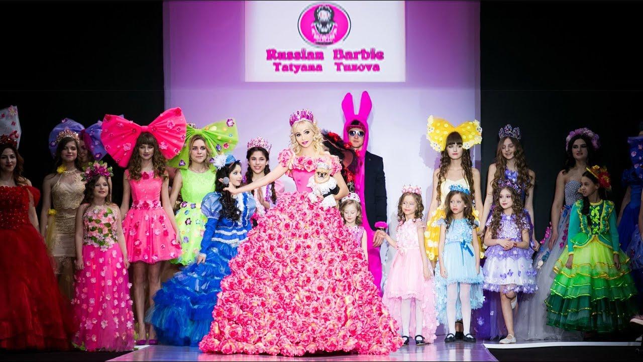 cd5013de5fea Tatyana Tuzova Russian Barbie - Moscow Fashion Week. ТАНЯ ТУЗОВА ...