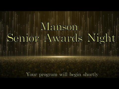 Senior Awards Manson High School