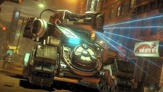 Batman: Arkham Knight - Cloudburst tank boss fight (New game plus)