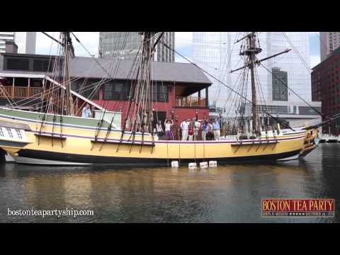 Boston Tea Party Museum- The Museum Experience