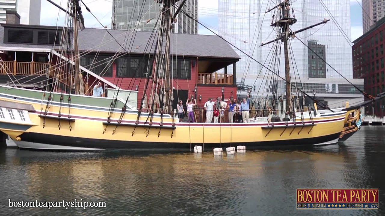 boston tea party museum the museum experience youtube. Black Bedroom Furniture Sets. Home Design Ideas