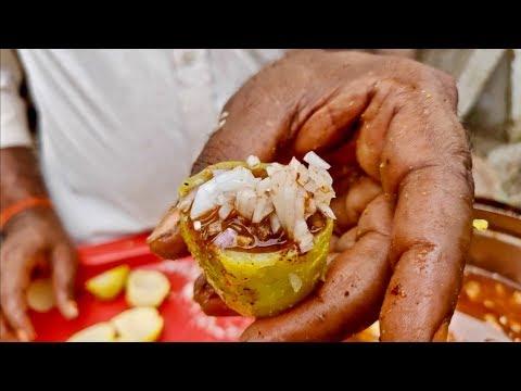 ALOO HANDI CHAAT | Unusual Chatpati Potato | Indian Street Food
