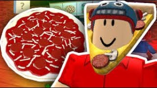 How to deliver pizza in Work at a Pizza PLace - Roblox | Dude Gaming|