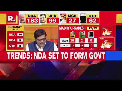 Lok Sabha Election Results 2019: Early trends Of Karnataka, Madhya Pradesh And Maharashtra