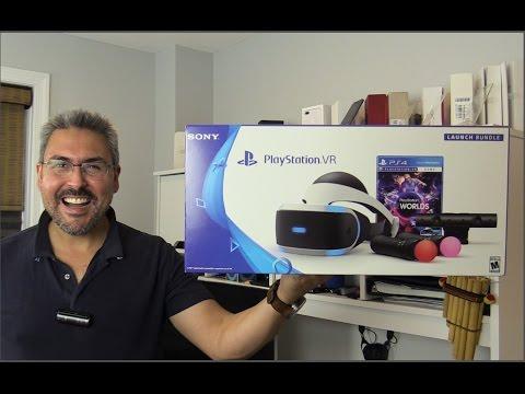 Sony PlayStation VR Unboxing - #PlayStationVR