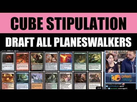 Vintage Cube Stipulation - Draft all Planeswalkers featuring LSV / Magic: The Gathering