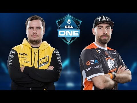 Virtus.Pro vs. NaVi [Mirage] Map 3 - ESL One New York 2016 - Grand Final