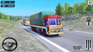 Indian Truck Offroad Cargo Drive Simulator 2 - offroad truck transport simulator - Android Gameplay screenshot 1