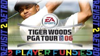 2 Player Funsies: Tiger Woods PGA Tour 06 (PS2)