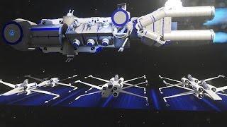 Star Wars Battles in Halo 5!