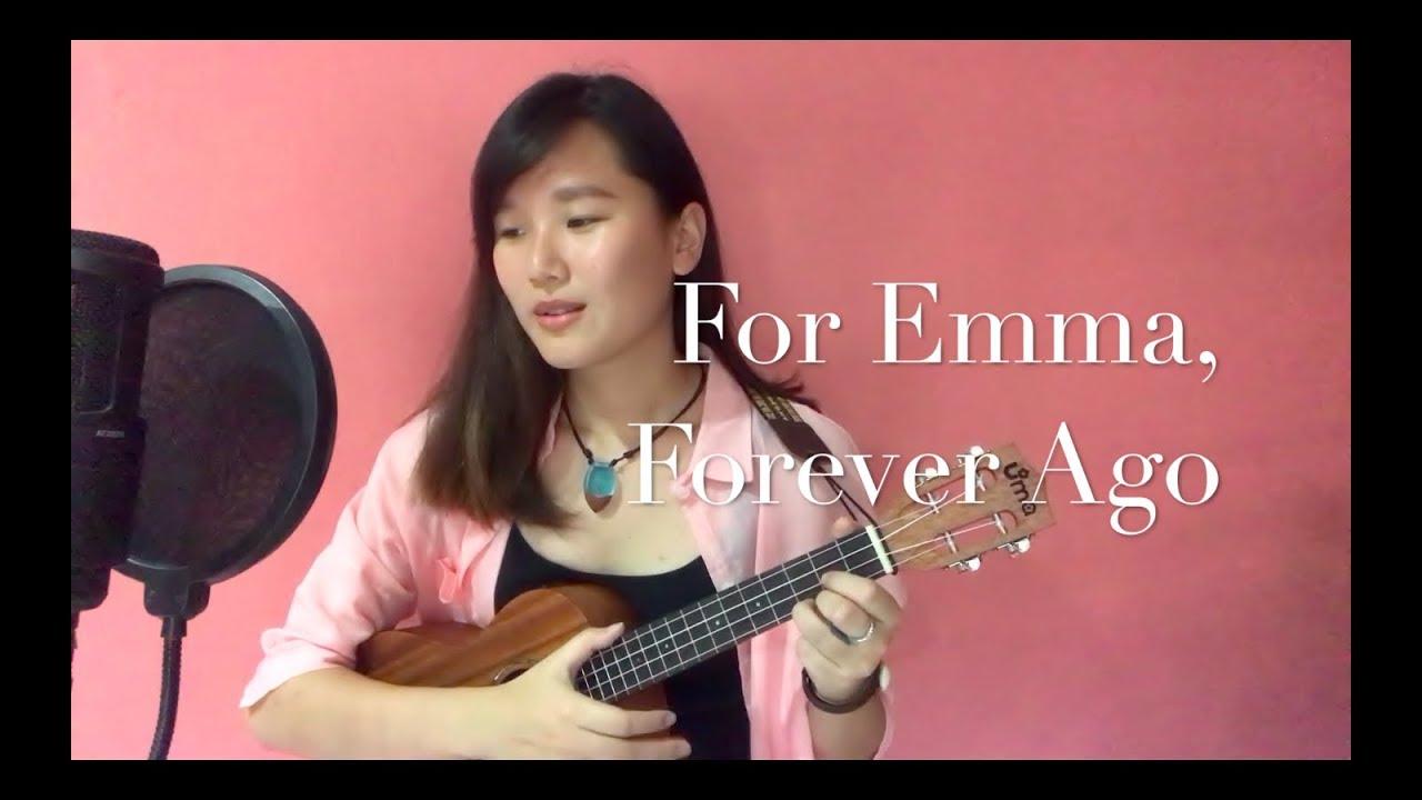 Bon Iver   For Emma, Forever Ago cover ukulele + lyrics + ....trumpets