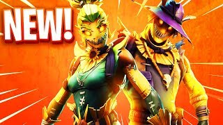 The New Scarecrow Skins in Fortnite..
