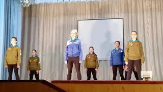 """видео: """"Снежный десант"""" в Крутихе.  Концерт"""