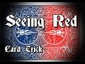 Card Magic- Seeing Red (Color Change Performance)