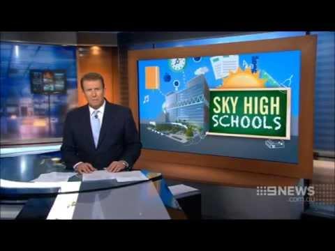 Nine News Sydney: Highrise Schools for Parramatta (12/2/2015)