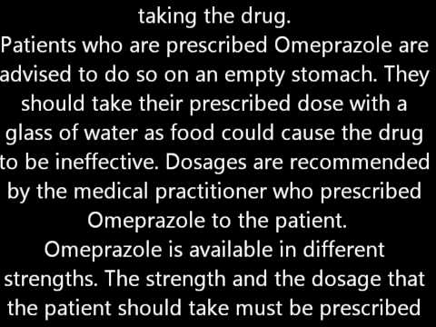 What Omeprazole Is All About