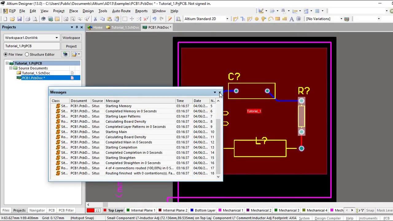 Altium Designer Tutorial 6 for beginners - Auto Route / Unroute