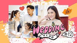 VLOG wedding #12 ใกล้ความจริงแบ้ว! ชุดมา เพชรมา เฟอร์นิเจอร์ มาละจ้าาา !!!   icepadie