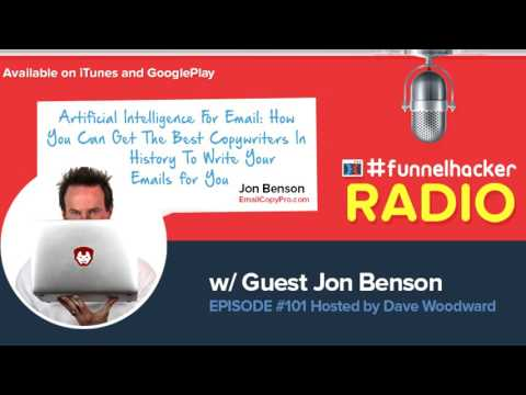 Jon Benson, Artificial Intelligence For Email: How You Can Get The Best Copywriters In History