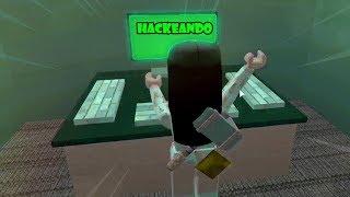 Roblox- HACKEANDO O CANAL DA NAT! (Flee the Facility)