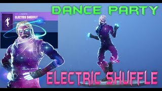FORTNITE - GALAXY SKIN DANCE PARTY - ELECTRIC SHUFFLE EMOTE