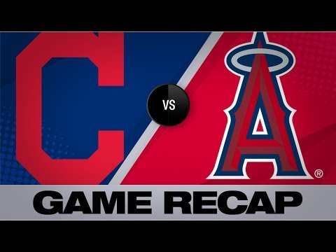 Indians Shut Out Angels On The Road