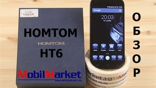 Обзор Homtom HT6 - MTK6735P, 2/16GB, 5.5
