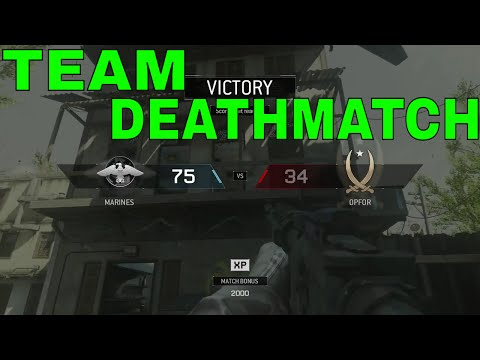 Modern Warfare Remastered: TEAM DEATHMATCH
