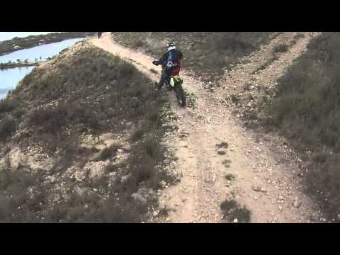 Riding dirt bikes at buffalo springs lake Lubbock texas 3