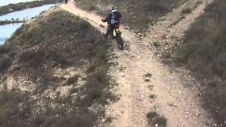 Riding dirt bikes at buffalo springs lake Lubbock texas 3