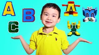 Lyndon Learns Letters of the Alphabet with ALPHABOTS