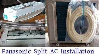 Panasonic Split AC Installation | Panasonic US18SKY-1 Inverter Air Conditioner Full Installation