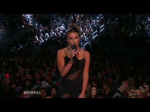 Lea Michele Introduces Celine Dion Performance - BBMA 2017