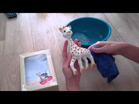 How To Clean Sophie The Giraffe