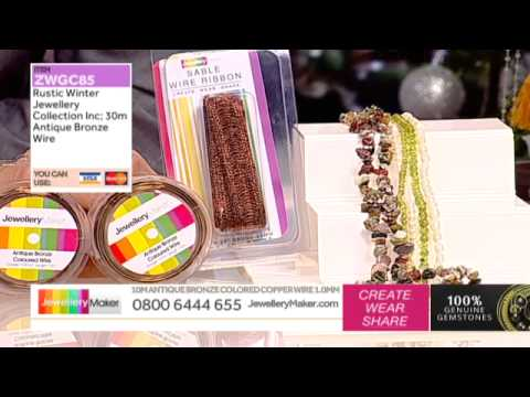How to Make Mixed Media Jewellery - JewelleryMaker AM LIVE 14/12/14