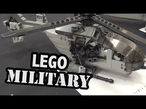 LEGO Modern Military Helicopters And Tanks   World War Brick 2017