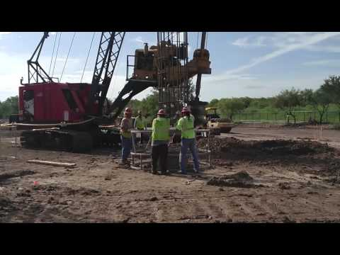 Drilled Pier Installation Process