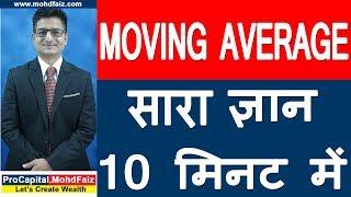 MOVING AVERAGE -  सारा ज्ञान 10 मिनट में