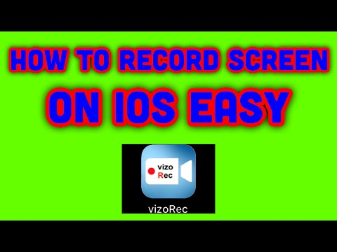 Howto 7# How to record screen on ios.