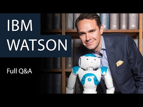 IBM Watson | Full Q&A | Oxford Union