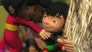 "Permainan Tradisional Anak Betawi ""Tuk-Tuk Geni"""