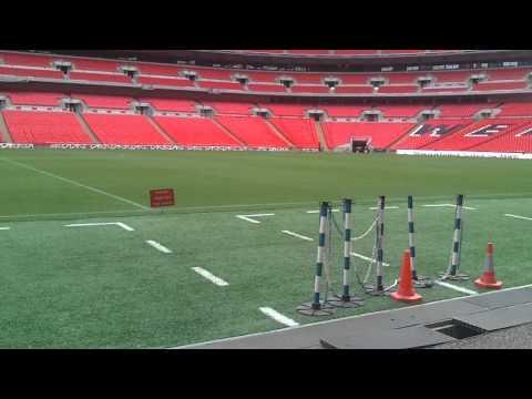 Wembley - Pitch Side