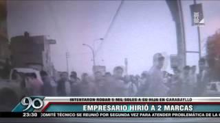 Carabayllo: empresario hirió a dos delincuentes en balacera