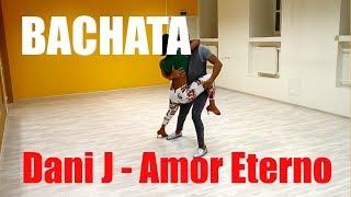 Красивый танец бачата Dani J - Amor Eterno | школа A4G Dance