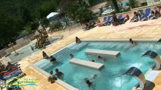 Espace aquatique Camping le Peyrelade